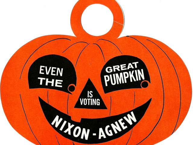 Even the Great Pumpkin Is Voting Nixon-Agnew (1968)