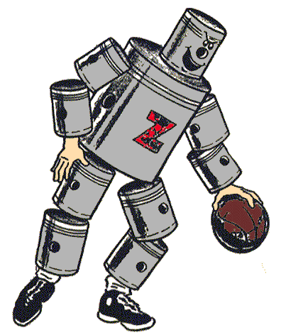 Fort Wayne (Detroit) Zollner Pistons primary logo (1941 - 1948)