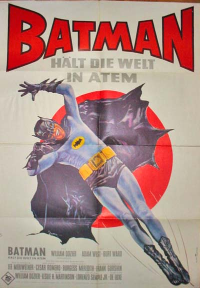 Batman (1966) German theatrical poster