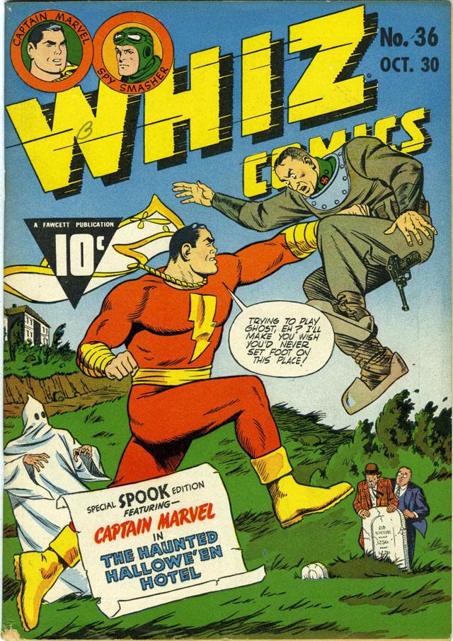 Whiz Comics #36 (Fawcett, 1942)