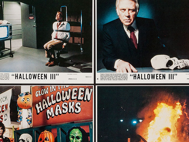 Here's a Set of Neat Halloween III: Season of the Witch Lobby Cards