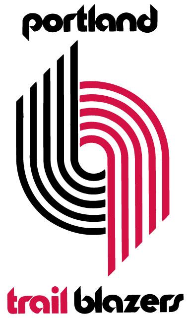 Portland Trail Blazers primary logo (1970 - 1990)