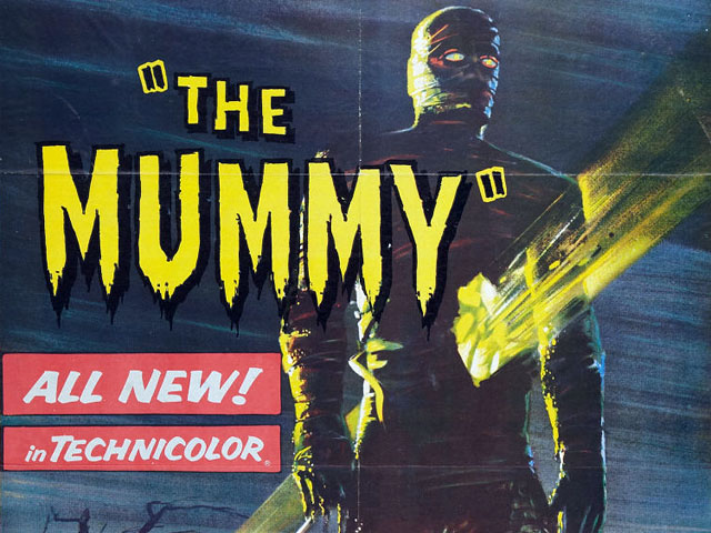 13 Classic Horror Movie Posters from the 1950s