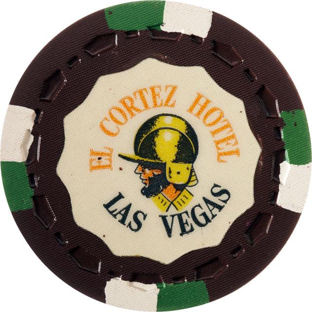 El Cortez Hotel, Las Vegas casino chip