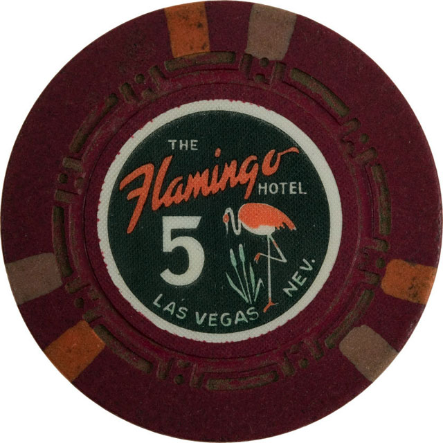 The Flamingo Hotel, Las Vegas casino chip