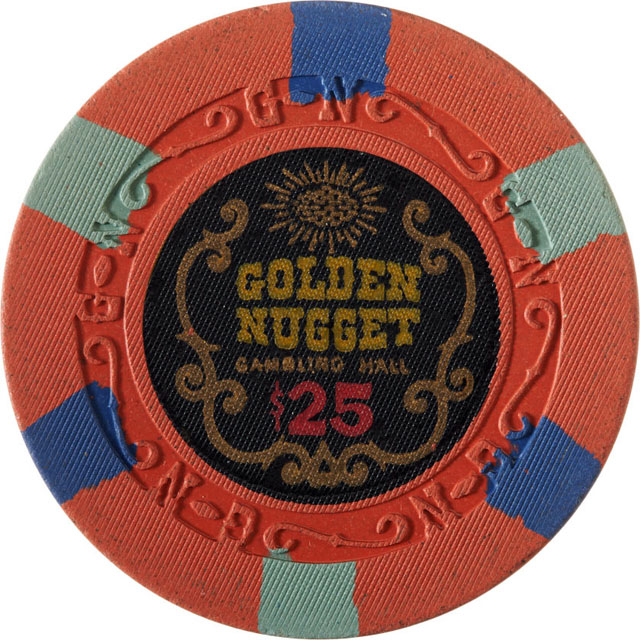 Golden Nugget, Las Vegas casino chip
