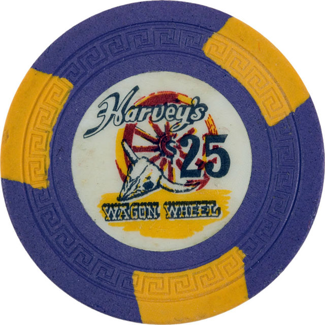 Harvey's Wagon Wheel, Stateline casino chip