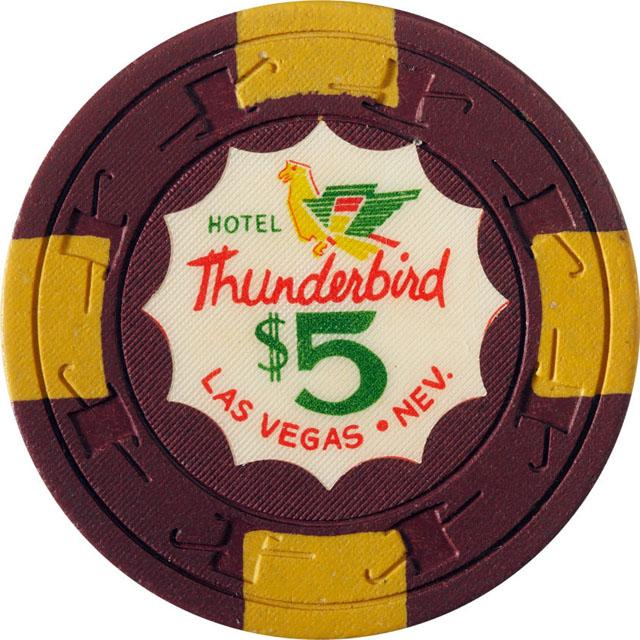 Thunderbird Hotel, Las Vegas casino chip