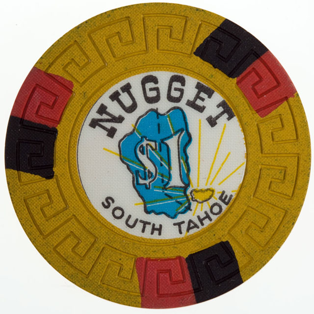 Nugget, South Tahoe casino chip