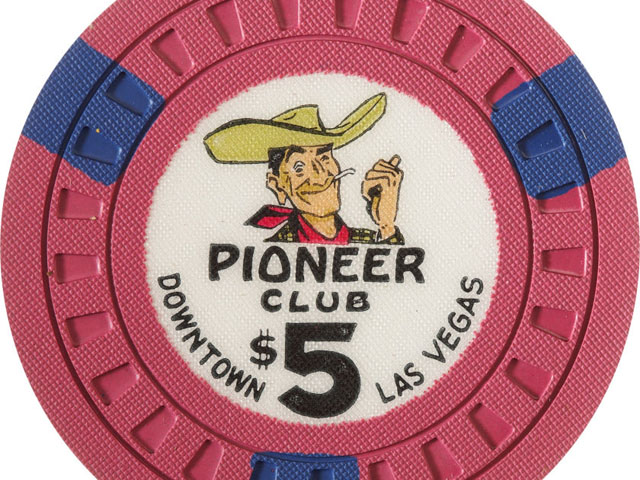 Vintage Las Vegas Casino Chips from the 1950s and 1960s