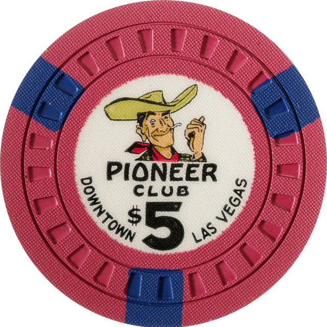 Pioneer Club, Las Vegas casino chip
