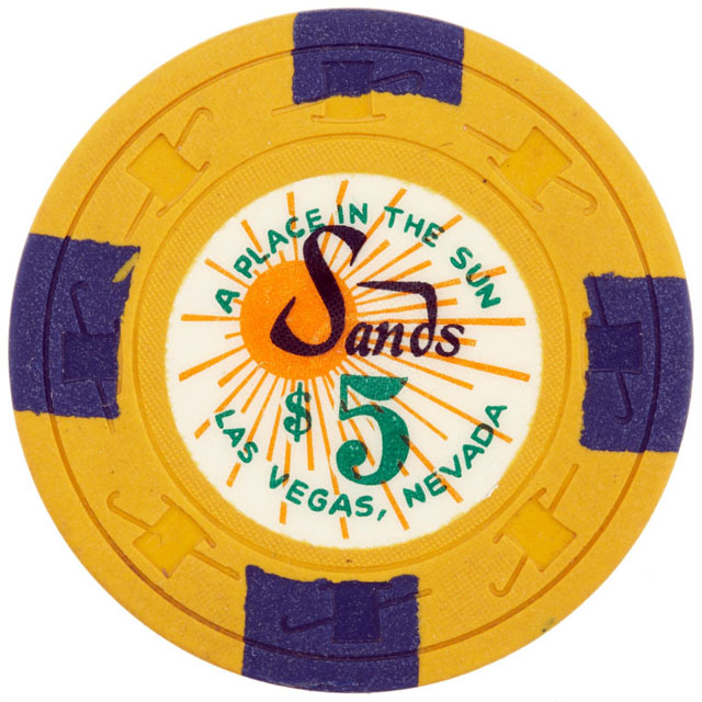 Sands, Las Vegas casino chip
