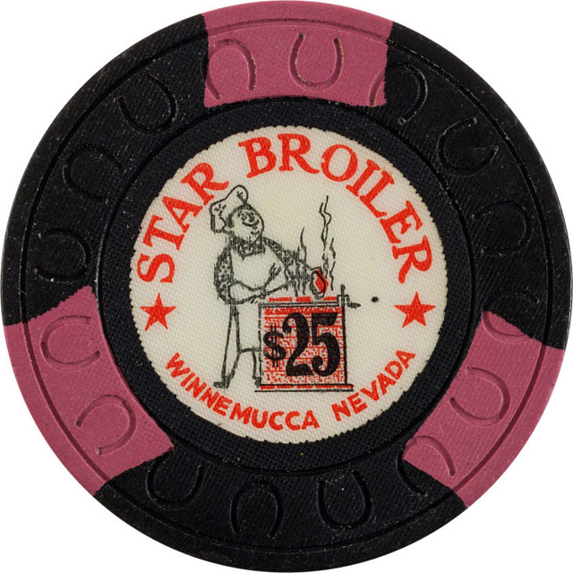 Star Broiler, Winnemucca casino chip