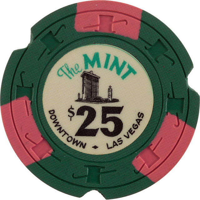 The Mint, Las Vegas casino chip