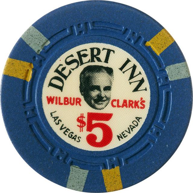 Wilbur Clark's Desert Inn, Las Vegas casino chip