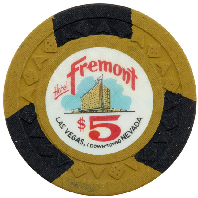 Fremont Hotel, Las Vegas casino chip