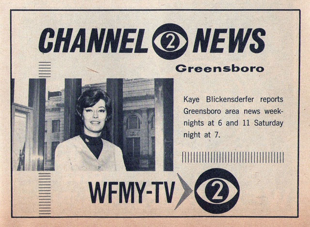 WFMY-TV (Greensboro, NC), 1967