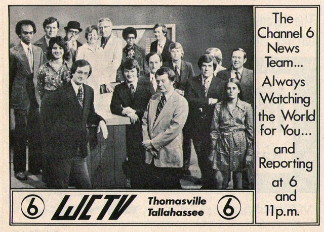 WCTV (Thomasville/Tallahassee, FL), 1975