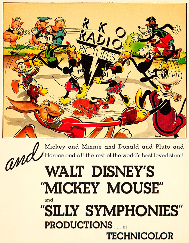 RKO Radio Pictures Silly Symphonies ad