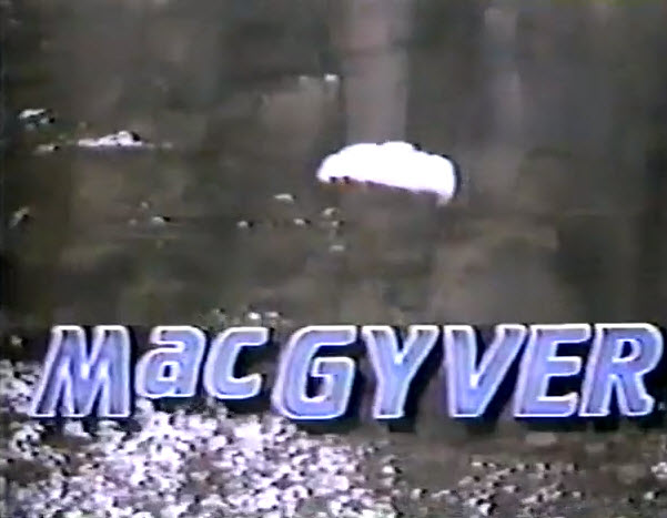 ABC 1985 Fall TV Preview - MacGyver