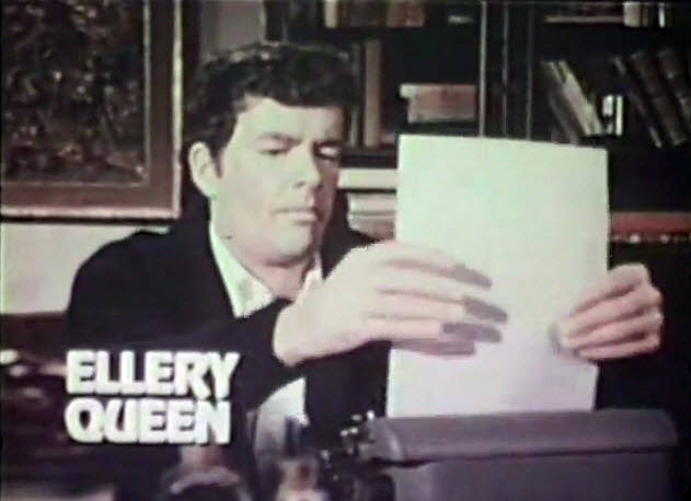 NBC 1975 Fall TV Preview - Ellery Queen