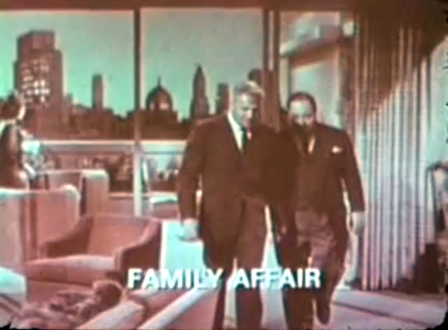 CBS Fall 1966 TV Preview - A Family Affair