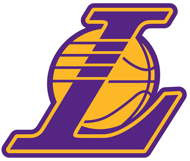 Los Angeles Lakers alternate logo (2001 - present)