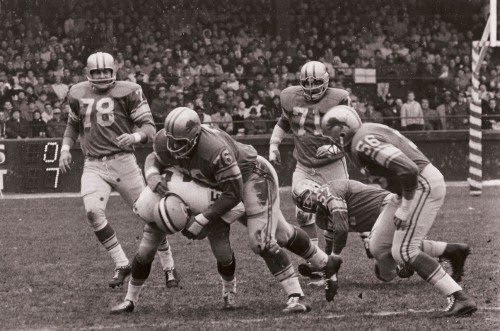 Detroit Lions vs. Green Bay Packers, Thanksgiving 1962