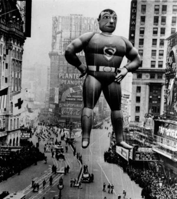 Superman balloon, 1940