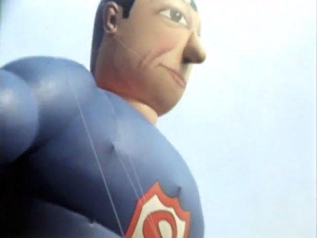 Superman Balloon at the 1940 Macy's Thanksgiving Day Parade