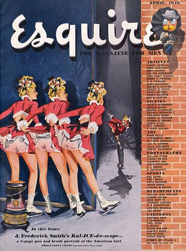 Esquire magazine cover, April 1946