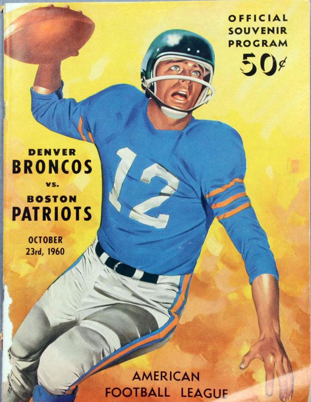 Boston Patriots at Denver Broncos — October 23, 1960