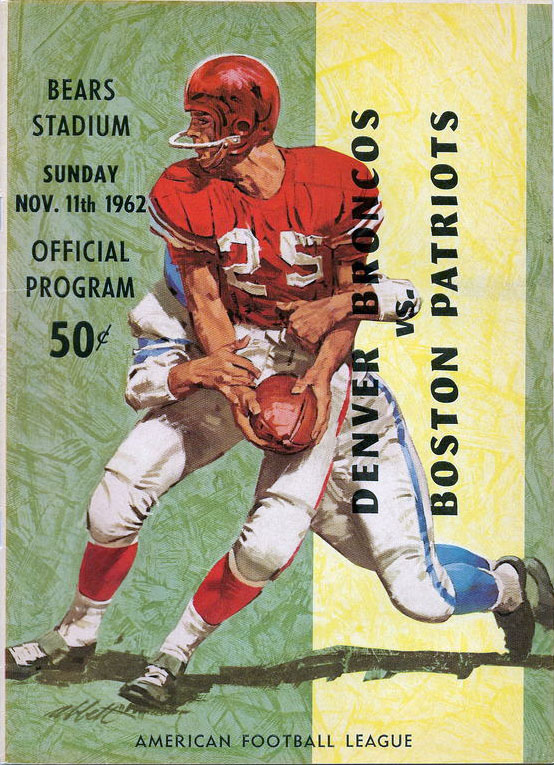 Boston Patriots at Denver Broncos — November 11, 1962