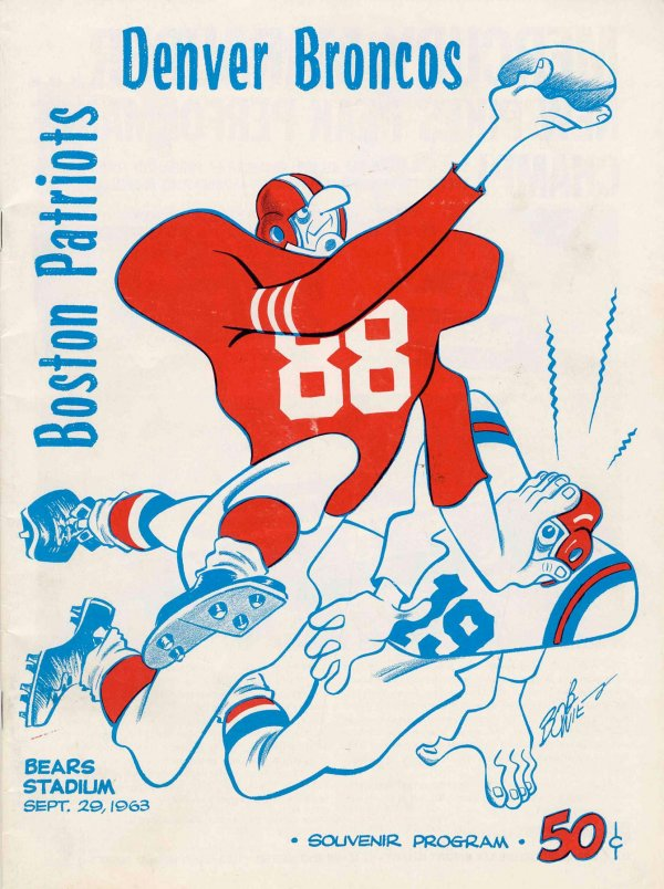 Boston Patriots at Denver Broncos — September 29, 1963