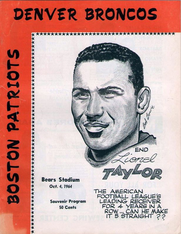 Boston Patriots at Denver Broncos — October 4, 1964
