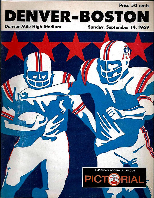 Boston Patriots at Denver Broncos — September 14, 1969