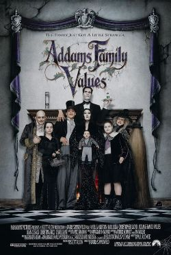 Addams Family Values (1993) movie poster