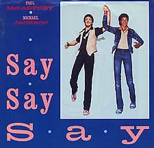 """Paul McCartney and Michael Jackson, """"Say Say Say"""""""