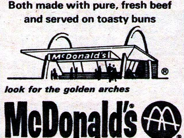 Let's Look At Some Vintage 1960s McDonald's Advertisements