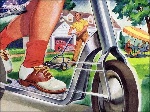 1947 USCO Aluminum print ad