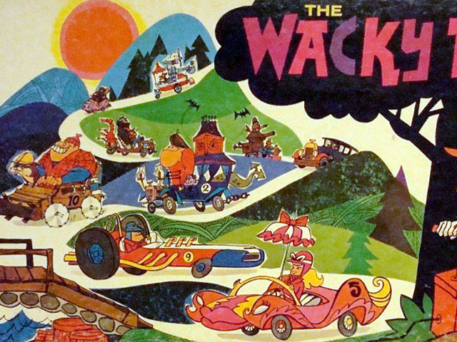 Vintage Tabletop: Wacky Races (1969)