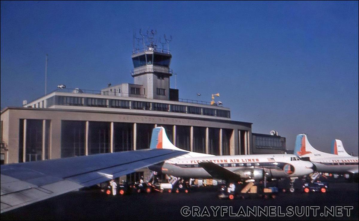 Eastern Air Lines at Washington National Airport, 1960.