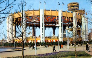 New York State Pavilion World's Fair Postcard
