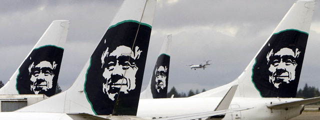 Alaska Airlines Eskimo logo jets