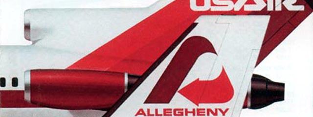 Allegheny Commuter/USAir logos