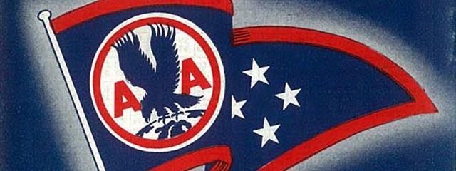 American Airlines (est. 1934) flag logo