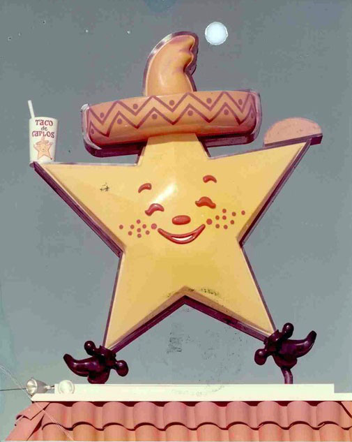 Taco de Carlos logo (1972)