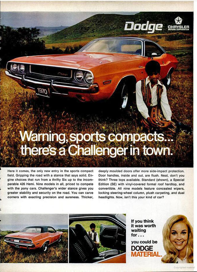 1970 Dodge New Car Amp Truck Lineup Advertisements