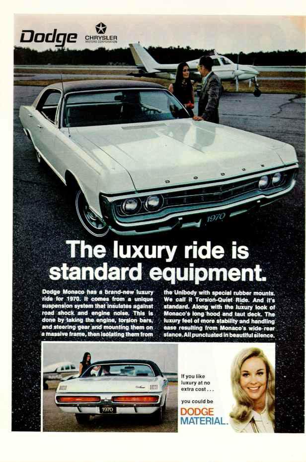 1970 Dodge Monaco ad