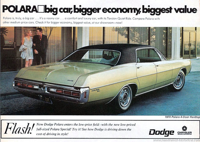 1970 Dodge Polara ad